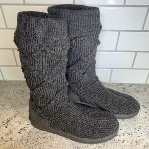 Ugg Argyle Classic Cardy Boots Crochet Style